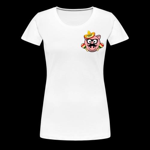Senior Pig - Women's Premium T-Shirt