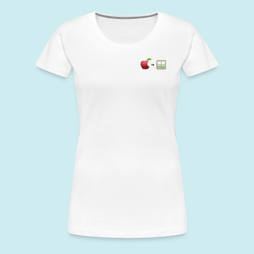 Apple or windows? - Women's Premium T-Shirt