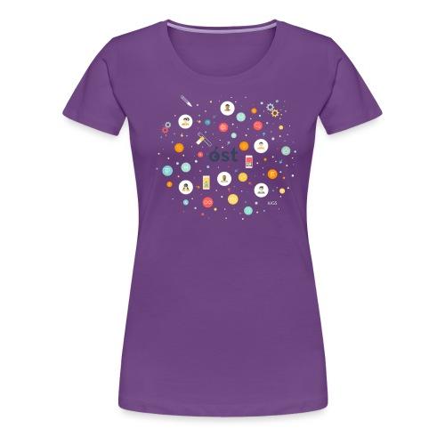 ost illustration - Women's Premium T-Shirt