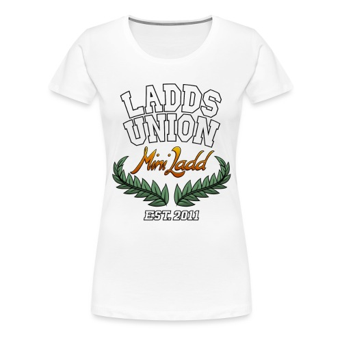 Mini Ladd College Shirt png - Women's Premium T-Shirt