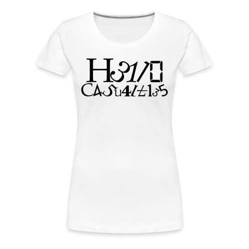 Hello Casualties Leet - Women's Premium T-Shirt