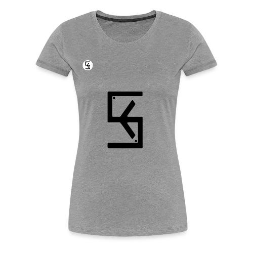 Soft Kore Logo Black - Women's Premium T-Shirt