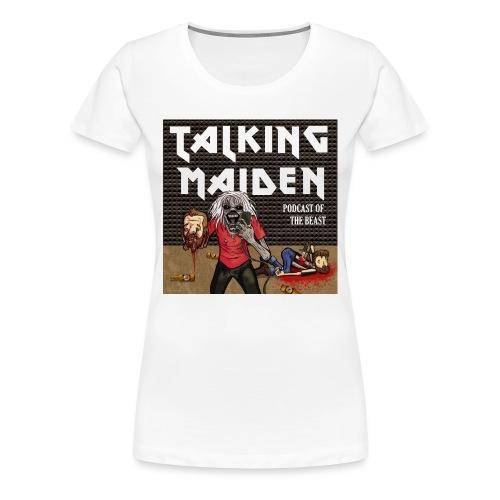 Talking Maiden Covert Art - Women's Premium T-Shirt
