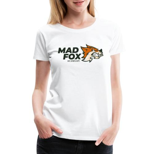 mad crazy fox - Women's Premium T-Shirt
