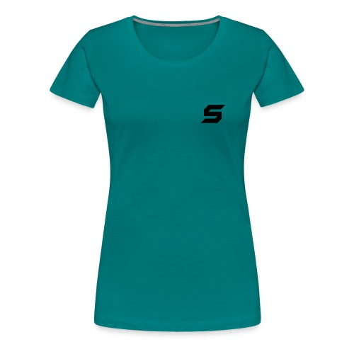 A s to rep my logo - Women's Premium T-Shirt