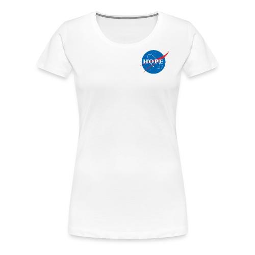 Hope (Nasa design) - Women's Premium T-Shirt