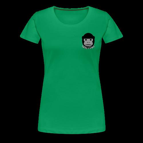 Gorilla Gang Original Insignia - Women's Premium T-Shirt