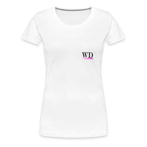 WD Avitar transparent 1 png - Women's Premium T-Shirt