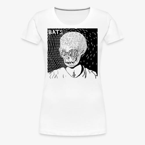 BATS TRUTHLESS DESIGN BY HAMZART - Women's Premium T-Shirt