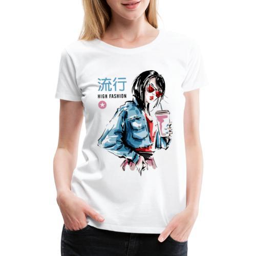 fashion style vogue trend - Women's Premium T-Shirt