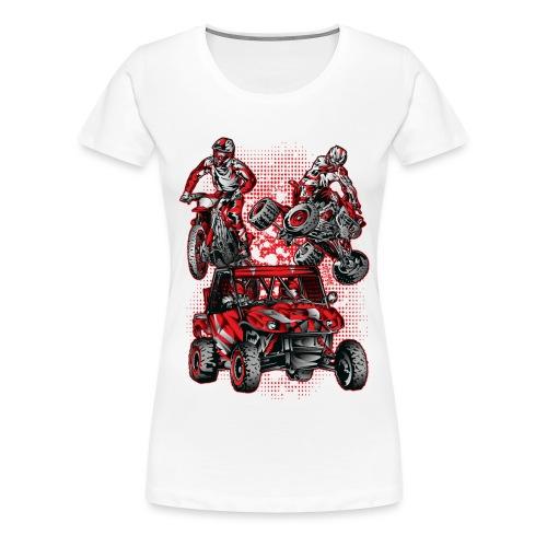 Extreme Stunts Motorsports - Women's Premium T-Shirt