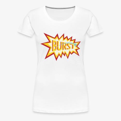 burst logo - Women's Premium T-Shirt