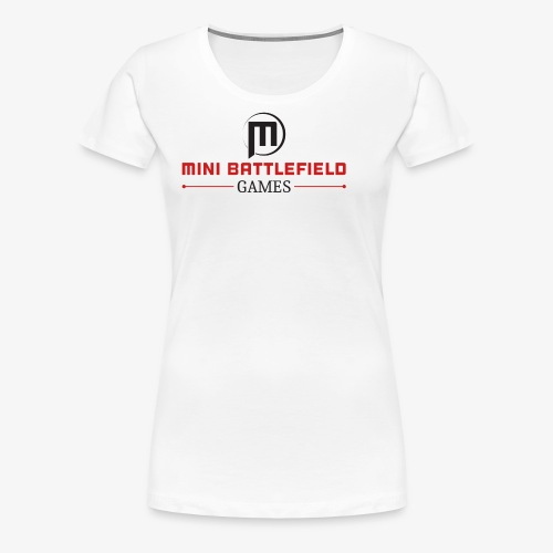 Mini Battlefield Games Logo - Women's Premium T-Shirt