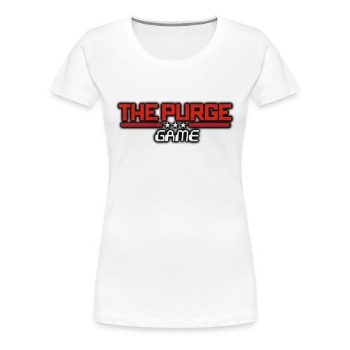 Purge Logo - Women's Premium T-Shirt