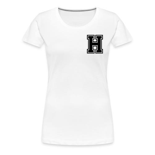 hustle official varsity apparel - Women's Premium T-Shirt