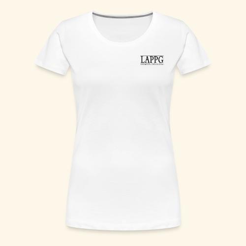 LAPPG Logo2014 - Women's Premium T-Shirt