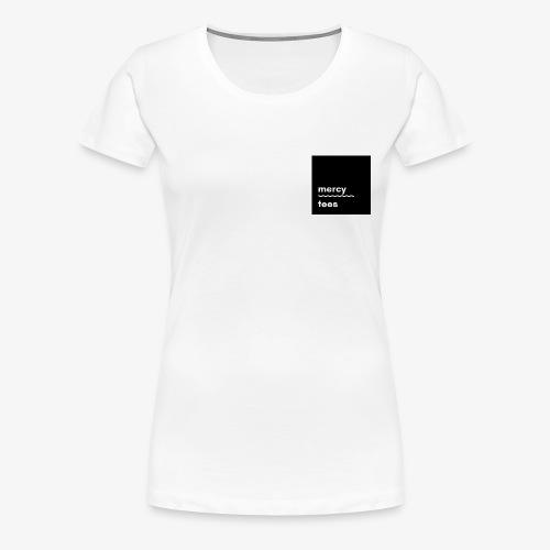 Mercytees black - Women's Premium T-Shirt