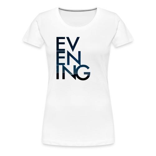Evening Album Cover - Women's Premium T-Shirt