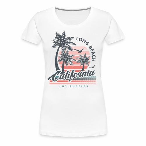 Long Beach CA - Women's Premium T-Shirt