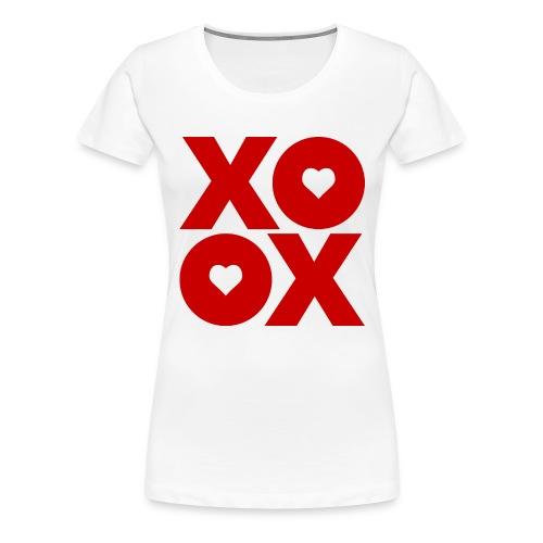 Valentine's Day XOXO - Women's Premium T-Shirt