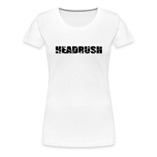HeadRush Logo Black - Women's Premium T-Shirt