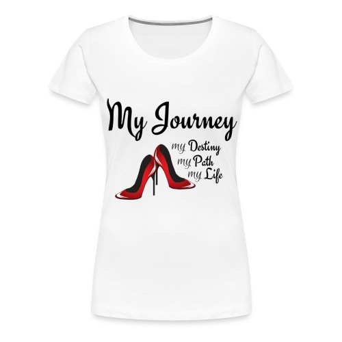 My Journey - Women's Premium T-Shirt