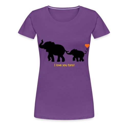 I Love You Tons! - Women's Premium T-Shirt
