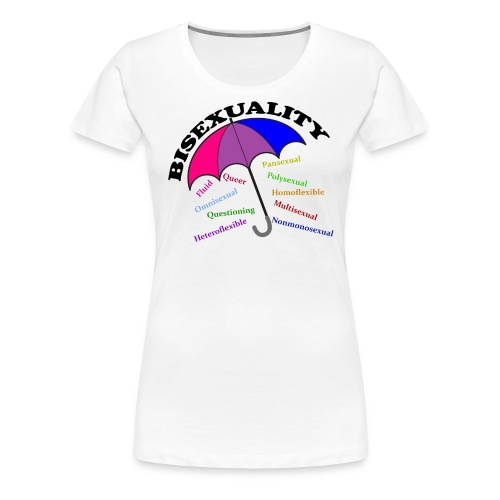 Bi+ Umbrella - Women's Premium T-Shirt