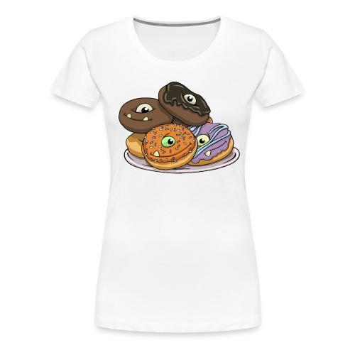 Monster Donuts Mug - Women's Premium T-Shirt