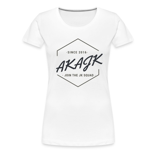 the geometric JK Squad - Women's Premium T-Shirt