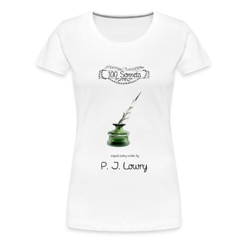 Cover-100-Sonnets-Smash - Women's Premium T-Shirt