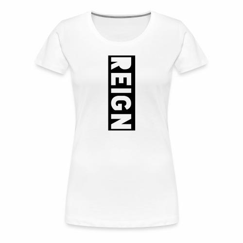 Reign Logo - Women's Premium T-Shirt