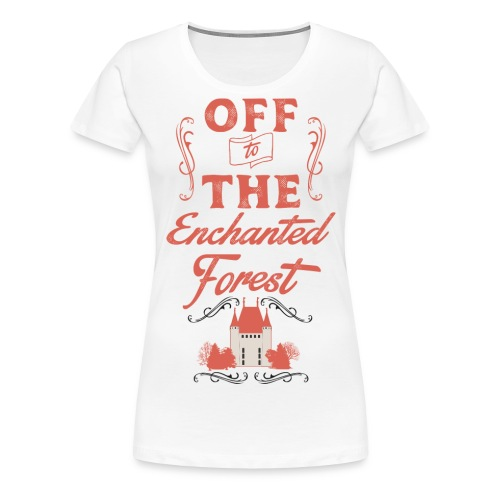 ENCHANTED FOREST RED RESI - Women's Premium T-Shirt