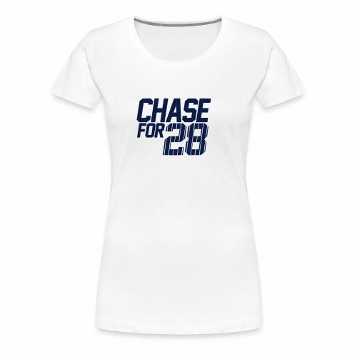 Chase For 28 - Women's Premium T-Shirt