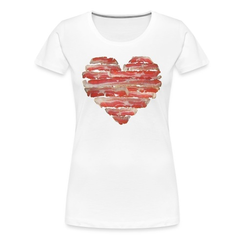BACON = LOVE - Women's Premium T-Shirt