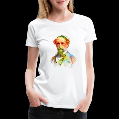 What the Dickens? | Classic Literature Lover - Women's Premium T-Shirt