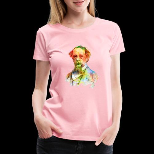 What the Dickens? | Classic Literature Lover - Women's Premium T-Shirt