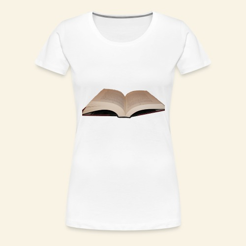 Book - Women's Premium T-Shirt