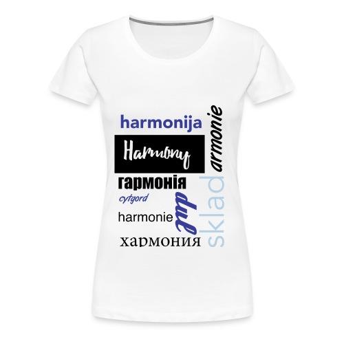 Harmony - Women's Premium T-Shirt