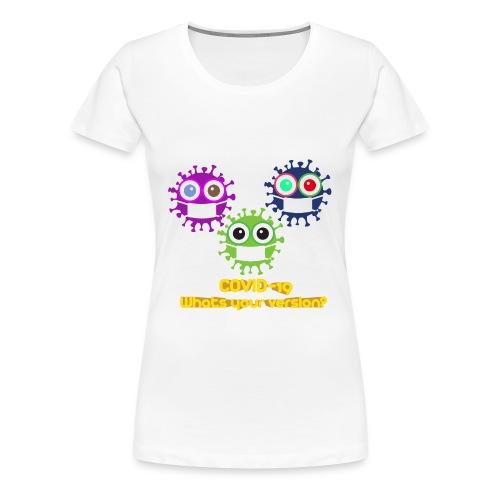 covid versiosn - Women's Premium T-Shirt