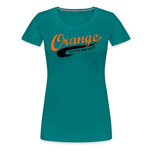 Free Piper Orange is the New Black - Women's Premium T-Shirt
