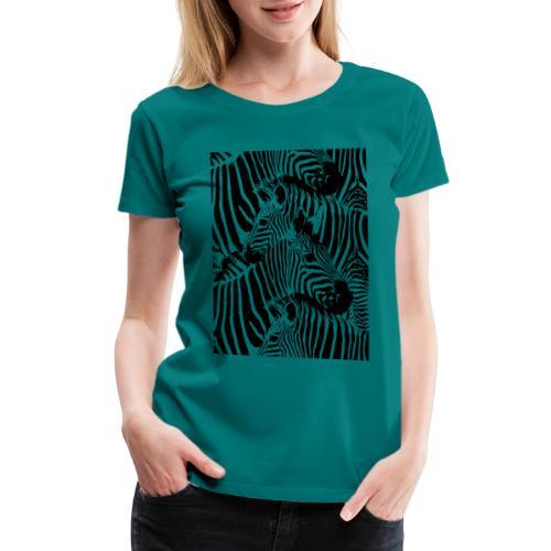 Zebras - Women's Premium T-Shirt