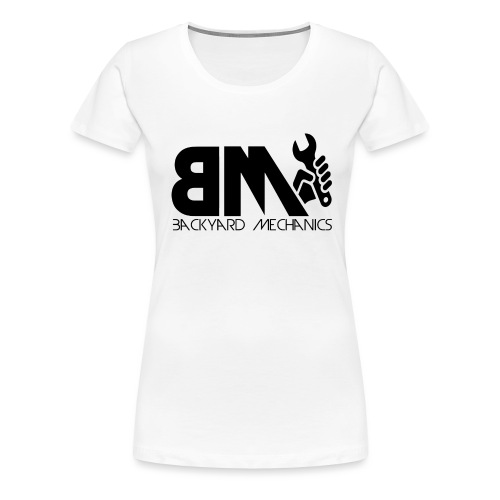 logo BM transparent - Women's Premium T-Shirt