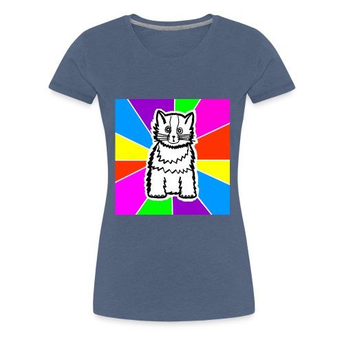 cat shirt wednesday - Women's Premium T-Shirt