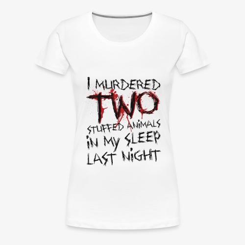 stuffedanimals png - Women's Premium T-Shirt
