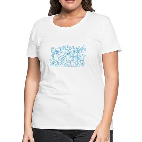 Pergamon Altar Berlin - Women's Premium T-Shirt