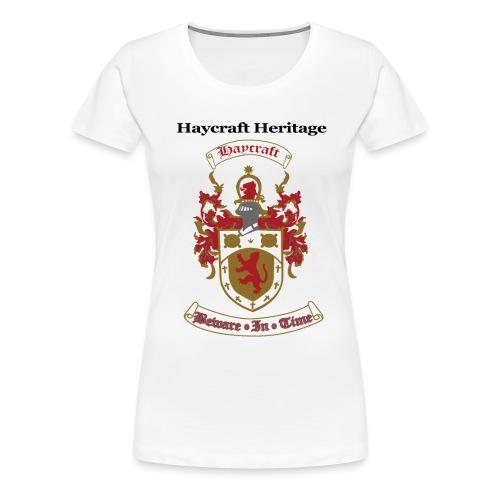 haycraftcrest - Women's Premium T-Shirt
