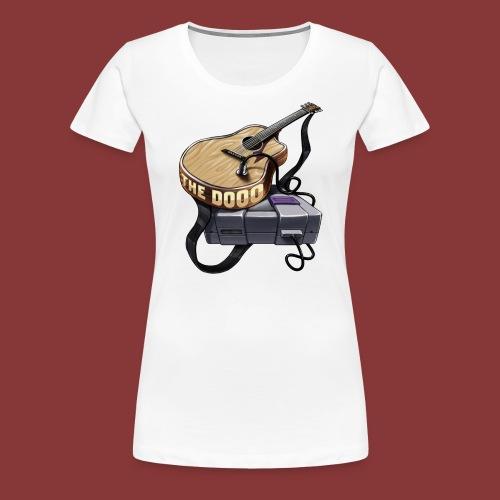 The Dooo Retro Logo - Women's Premium T-Shirt