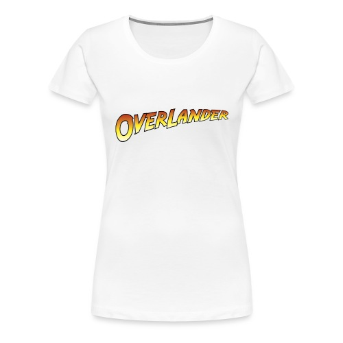 Overlander - Autonaut.com - Women's Premium T-Shirt