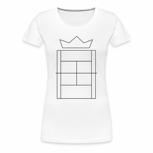 Queen/King of the Court - Women's Premium T-Shirt